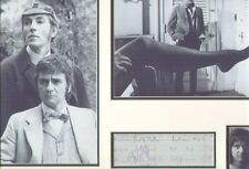 PETER COOK DUDLEY MOORE & DUSTIN HOFFMAN SIGNED AUTOGRAPHS