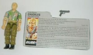 1987-GI-Joe-Undercover-Agent-Chuckles-v1-Figure-w-File-Card-Not-Complete-READ