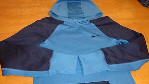2f707a353b9e Women s Nike Therma-Fit Hoodie Sweatshirt Blue Sportswear Size Small ...