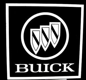 Buick Car Logo Vinyl Decal Sticker 61021