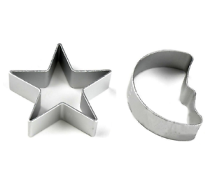 Star-amp-Moon-Metal-Cookie-Cutter-Biscuit-Pastry-Cake-Jelly-Baking-Mould-2pcs-Set