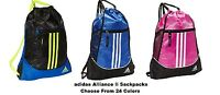 Adidas Alliance Ii Sackpack- Choose From 24 Colors