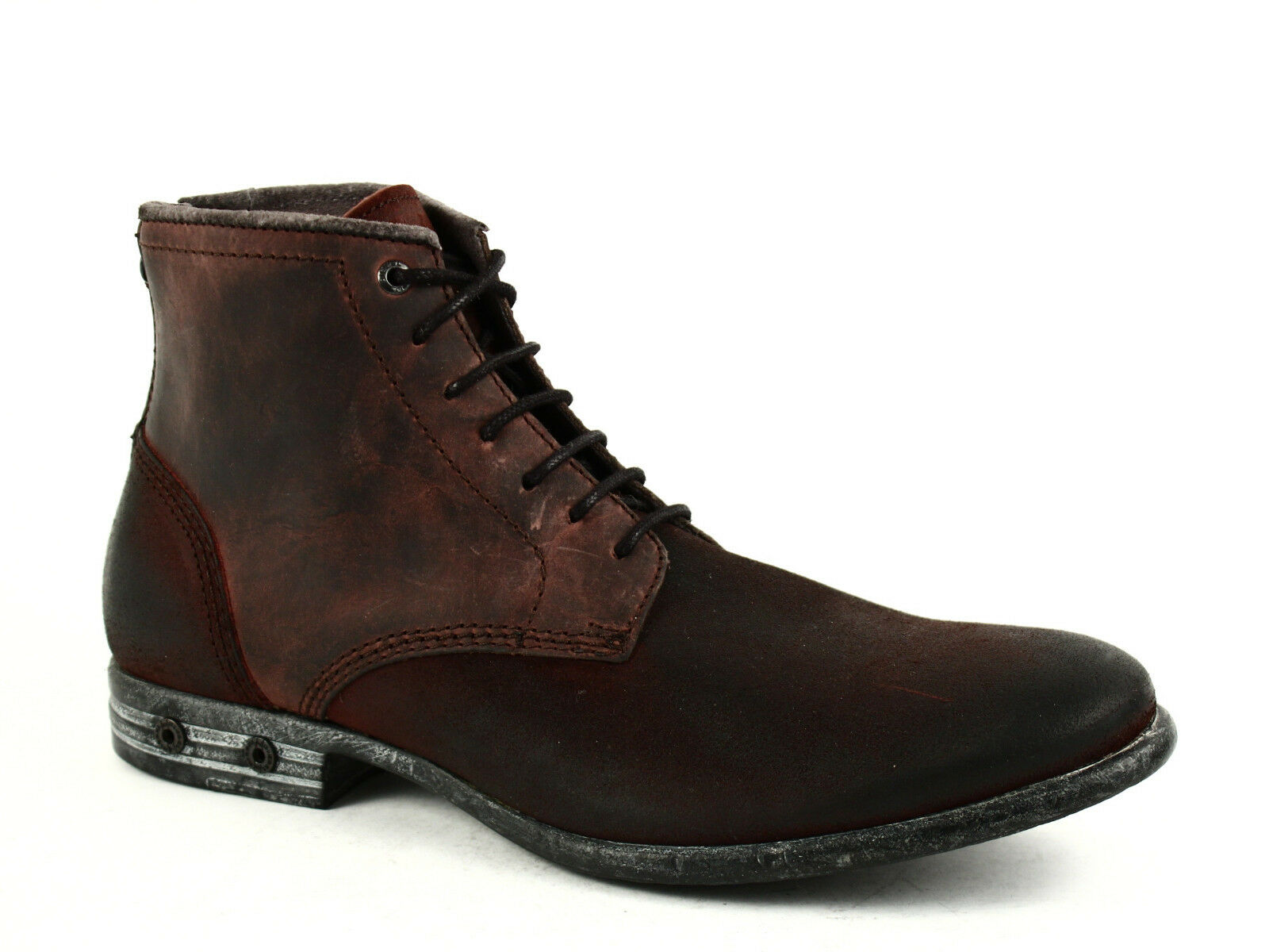 Diesel CHRON ZIP Mens Ankle Casual braun Oiled Leather Nubuck schuhe Stiefel  275.00