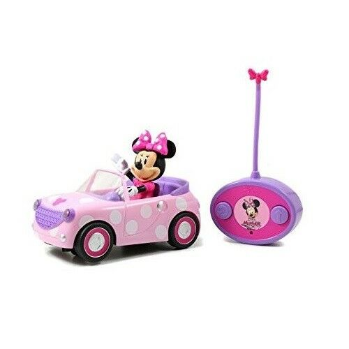 RC Cars for Girls Kids Minie Mouse Remote Control Car Girl Battery Toy Vehicle