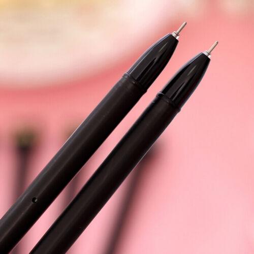 4pcs Black Cat Gel Pen Kawaii Stationery Creative Gift School Supplies 0.5mm SD