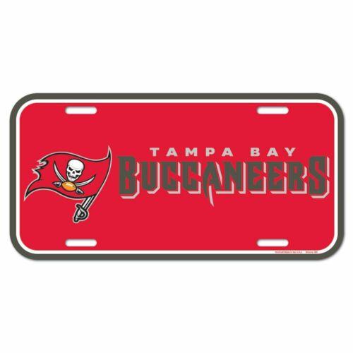 Tampa Bay Buccaneers Wincraft NFL Kennzeichenschild