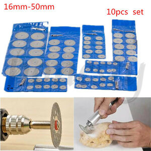 10X-Mini-Diamond-Saw-Blade-Cutting-Disc-Rotary-Wheel-Grinding-2-Mandrel-Dremel