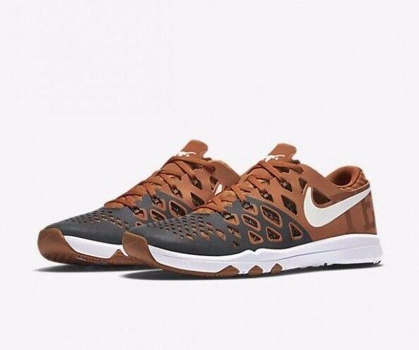 Nike treno velocità 4 amp texas uomini scarpa arancione / whte deserto [844102-800]