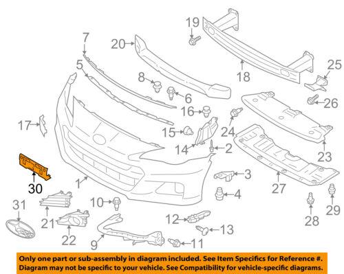 SUBARU OEM 13-16 BRZ-License Plate Bracket Mount Holder 57751CA052