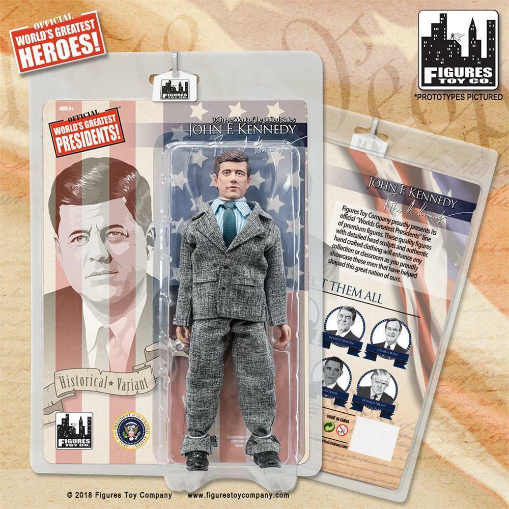 hasta 60% de descuento Presidentes de Estados Unidos 8 Pulgadas Retro Figura De Acción Acción Acción John F. Kennedy Variante Traje gris [] NUEVO  Ahorre 35% - 70% de descuento