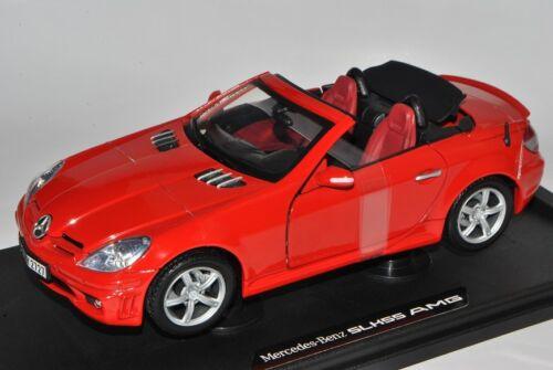 Mercedes-Benz SLK R171 2004-2011 55 AMG Rot Öffnendes Dach Coupe Cabrio 1//18 M..