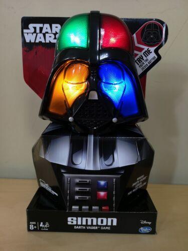 NEW Simon Says Star Wars Darth Vader Hasbro Disney Game lights and sounds