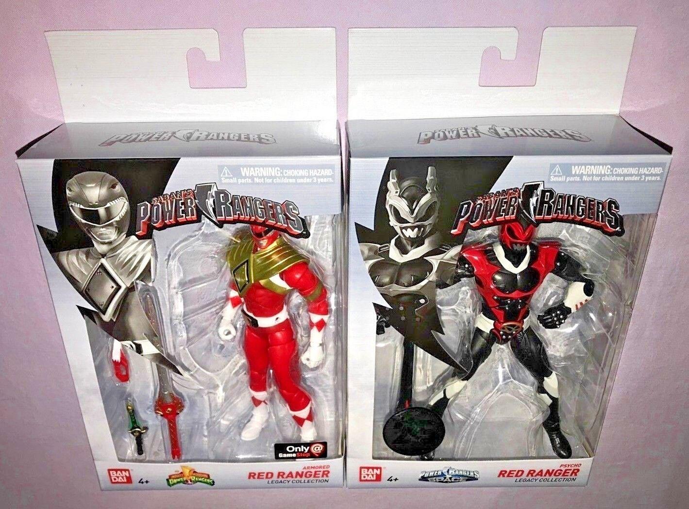 Power Rangers LEGACY ARMOROT ROT RANGER & PSYCHO ROT RANGER  NEW