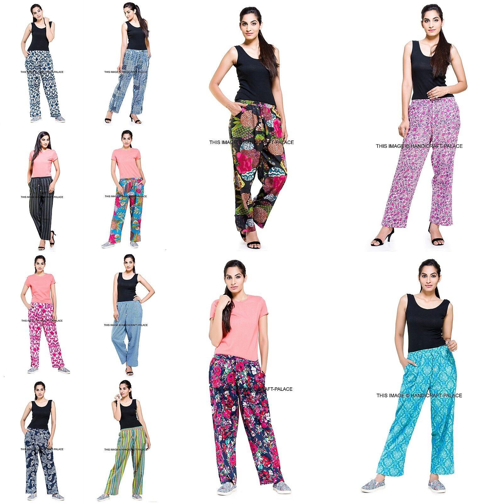 10 PCS Wholesale Lot Harem Beach Pants Indian Trousers Baggy Yoga Women Gypsy