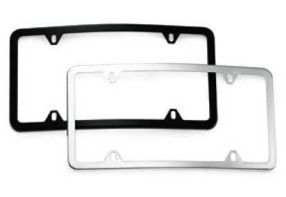 Genuine  License Frame Curved Front Slimline Q-6-88-0104