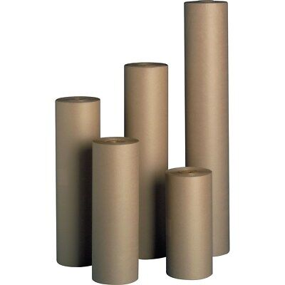 """48/"""" 40 lbs 760/' Brown Kraft Paper Roll Shipping Wrapping Cushioning Void Fill"""