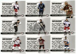 2009-10-In-The-Game-Heroes-amp-Prospects-Enforcers-10-Card-Insert-Set