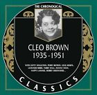 1935-1951 by Cleo Brown (CD, Sep-2002, Classics)