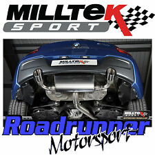 Milltek BMW M135i 3&5 Door F21 F20 Rear Silencer RACE Exhaust Polish SSXBM959