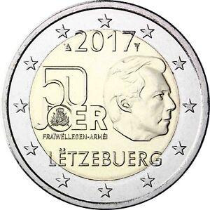 Luxemburg-2-Euro-2017-Freiwilliger-Wehrdienst-Gedenkmuenze-bankfrisch
