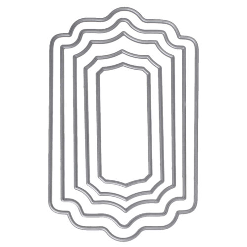 Rectangle Cutting Dies Stencil DIY Scrapbooking Album Paper Card Embossing Craft