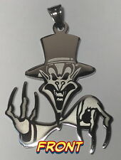 ICP Insane Clown Posse RINGMASTER Stainless Steel Charm twiztid rare lot JUGGALO