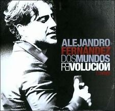 Alejandro Fernandez: Dos Mundos Revolucion En Vivo  Audio CD