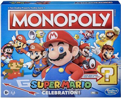 Monopoly Super Mario Celebration  E95171030  Hasbro
