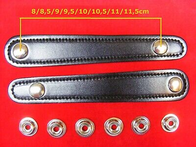 2 Stück Für Balgzughalter Von 8 Bis 11,5cm Balgriemen/accordion Bellows Straps.!