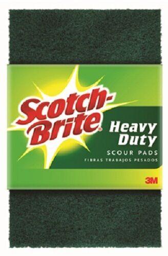"(24) ea 3M # 220 Scotch-Brite 6.2"" x 4"" Scour Pro Scrubbing Cleaning Sponges"