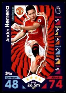 Match-Attax-2016-2017-Ander-Herrera-Manchester-United-Base-card-No-189