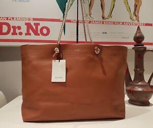Spainpaper Tote Bag chiaro pelle Made di bag ispirata marrone Smith allain In Paul UMpzGSVLq