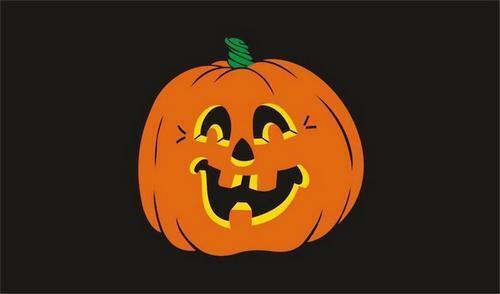 Halloween Decoration New /& Sealed Happy Halloween Flag Flag 5 x 3