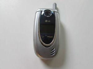 great lg vx5200 verizon flip cell phone camera silver excellent rh ebay co uk LG VX5400 LG VX8300