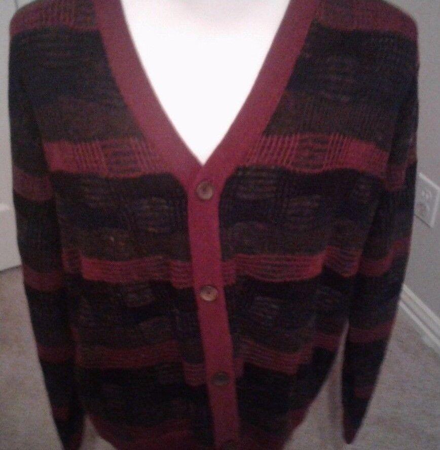 298 Robert Graham Buttton Up Cardigan Sweater, Größe XXL