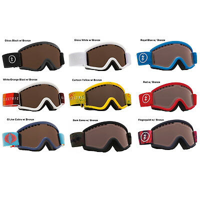 NEW Electric EGV.K kids age 7-12 youth boys girls ski snowboard goggles Msrp$50