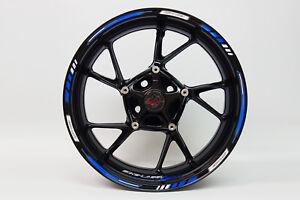 """LISERET AUTOCOLLANT 710003 GP-STYLE Racing 1000 Blue Pour 16"""" 17"""" 18"""" Pouces  </span>"""