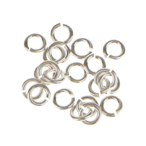 20x-3mm-925-Sterling-Silver-Jewelry-Findings-Connector-DIY-Open-Jump-Rings
