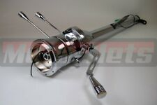 "32"" Chrome Stainless steel Automatic Tilt Steering Column Shift No IgnitionKeyGM"
