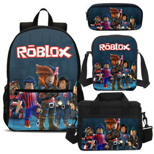 Image Is Loading Cool Roblox Boys Girls Backpack Set Lunch Bag