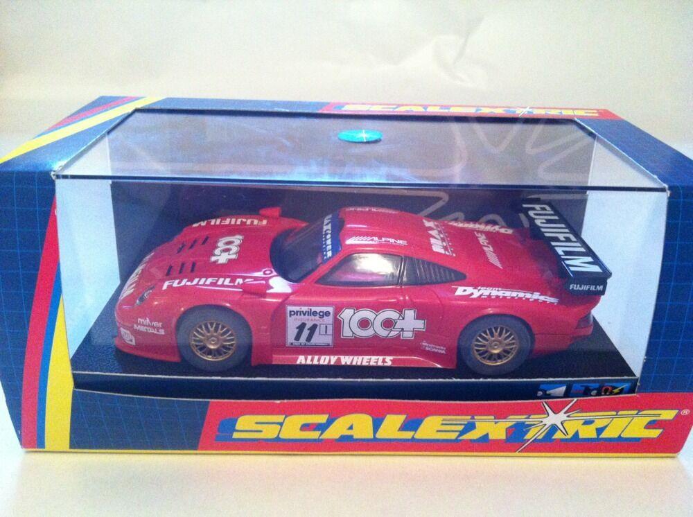 Scalextric C2202 Porche 911 GTI Fujifilm QC SAMPLE COA