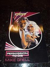 JAMES BOND - PERMISSION TO DIE Comic - No 1 - Date 1989 - Eclipse Comic