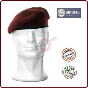 Caricamento dell immagine in corso Basco-Spagnolo-Amaranto-Bordo -Tessuto-Para-Esercito-Vigilanza 6086d8849034