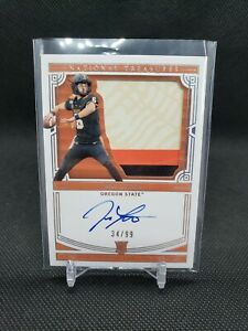 2020 National Treasures Jake Luton RPA Quad Color Patch On Card Auto /99 RC