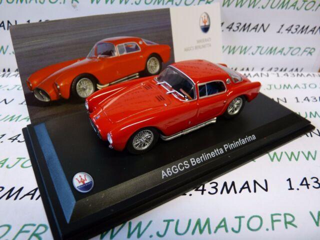 MAS10S voiture 1/43 LEO models MASERATI collection : A6GCS berlinetta pinifarina