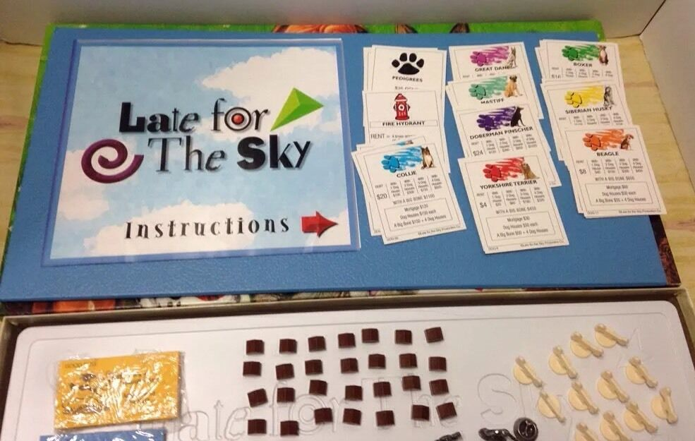 Dog Opoly Property Trading Board Game Late For The Sky Factory Age8