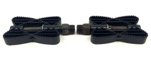 OLD SCHOOL BUTTERFLY BICYCLE PEDALS 9//16