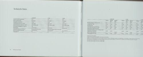 Mercedes G-Klasse Prospekt 2000 11//00 brochure prospectus G 400 CDI G 320 G 500