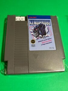 WORKING-NINTENDO-NES-SUPER-RARE-GAME-Cartridge-SUNSOFT-XENOPHOBE