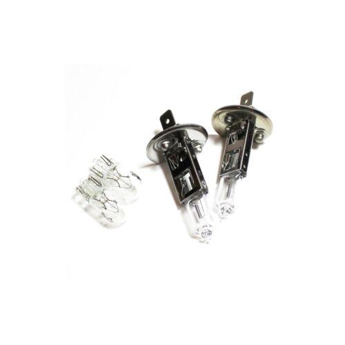 Peugeot 407 H1 501 100w Clear Xenon HID Low//Side Headlight Headlamp Bulbs Set